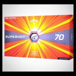 Callaway Superhot Golf ball Set ~ 15